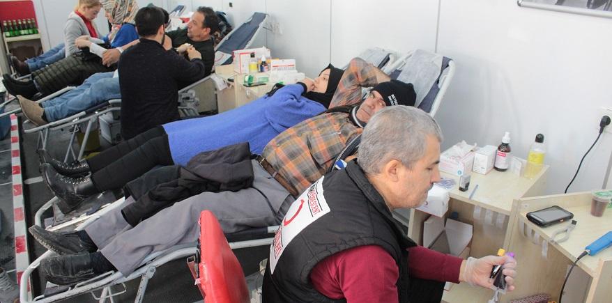 Beyşehir'de kan bağışı seferberliği