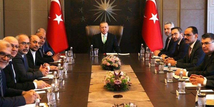 Cumhurbaşkanı Erdoğan: Filistin Davasına Ve Filistin Halkına Sırtımızı Dönmeyeceğiz