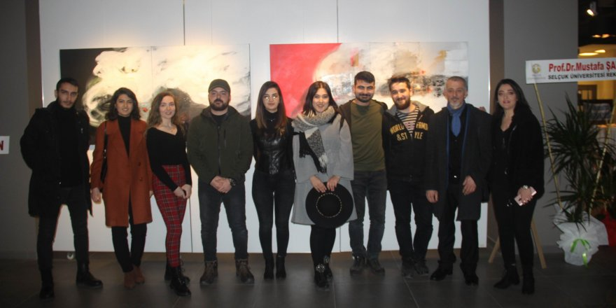 MEDAŞ Sanat Galerisinde 'Re-vizyon' resim sergisi