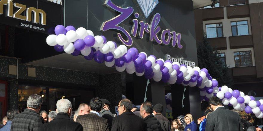 Zirkon Butik hizmete açıldı