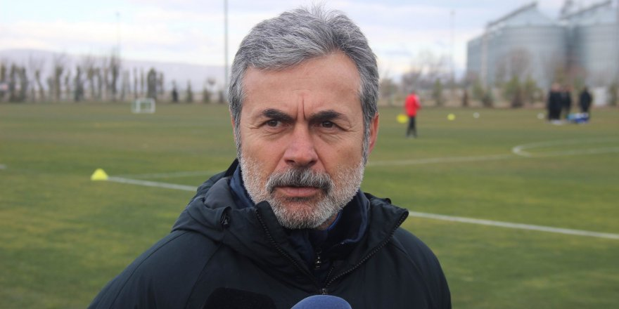 Aykut Kocaman takımına inanıyor