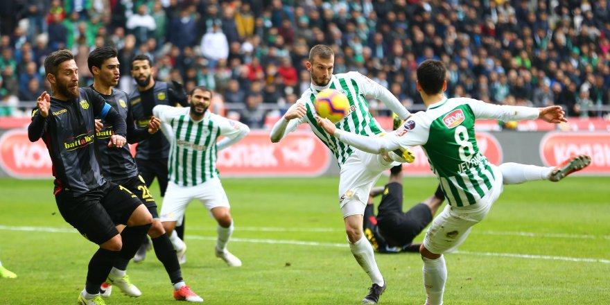 Atiker Konyaspor-Y. Malatyaspor: 1-1