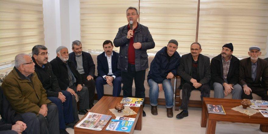 Başkan Hançerli'den Emekli Konaklarına Ziyaret