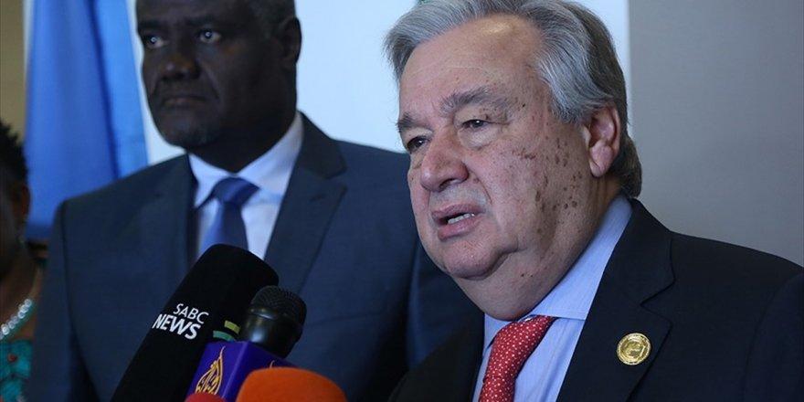 Guterres Mültecilere Kapılarını Kapatanlara Afrika'yı Hatırlattı
