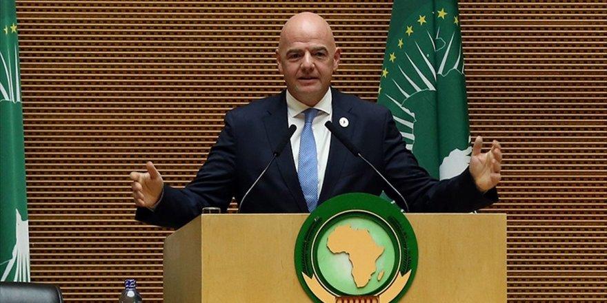 Fıfa Başkanı Infantino: Afrika Futbolla Birçok Problemin Üstesinden Gelebilir