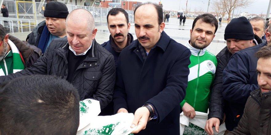 Başkan Altay ve Kulluk'tan sıfır atık desteği