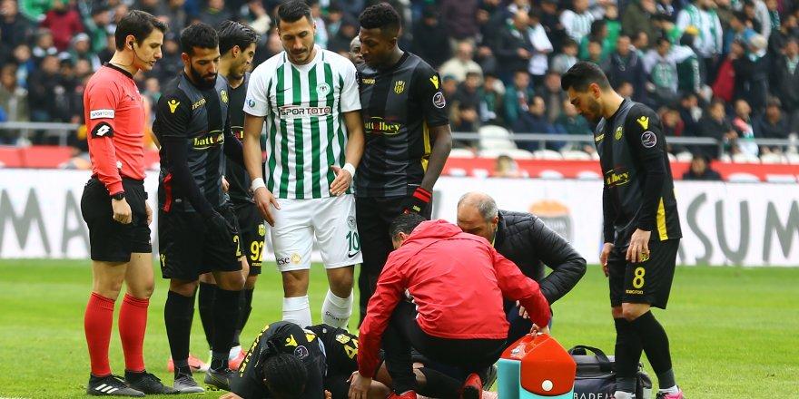 Malatyaspor'lu futbolcular yerden kalkmadı
