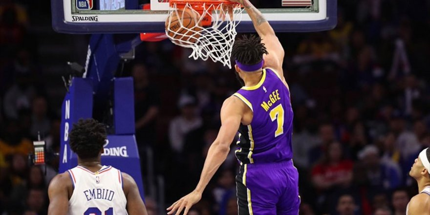 Philadelphia 76ers, Lakers'ı Farklı Yendi
