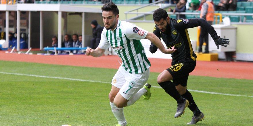 Konyaspor'da Ömer Ali şoku