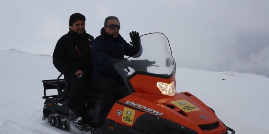 "Vali Toprak: ""Derbent Aladağ istikbal vadediyor"""