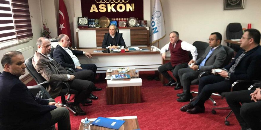 Taib'ten Askon Konya Şubesine Ziyaret