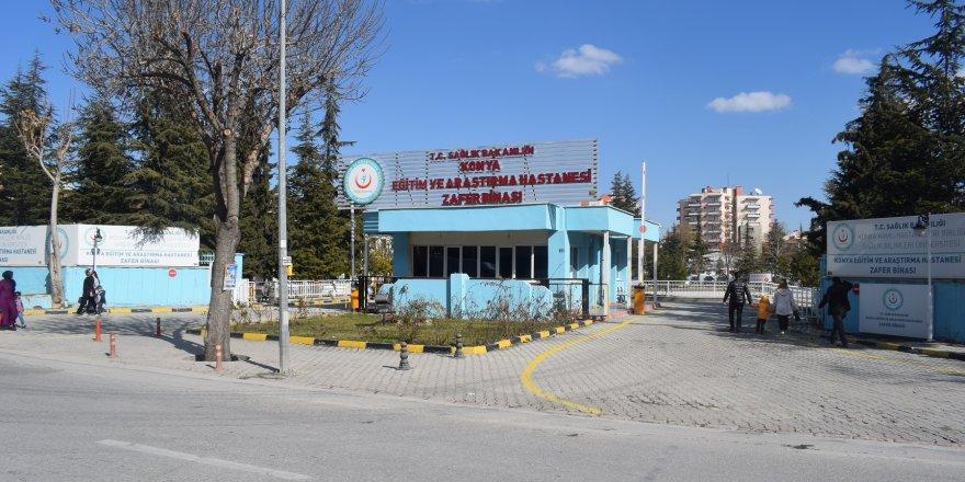 Hava Hastanesi bölgesi Konya Büyükşehir'e devrediliyor