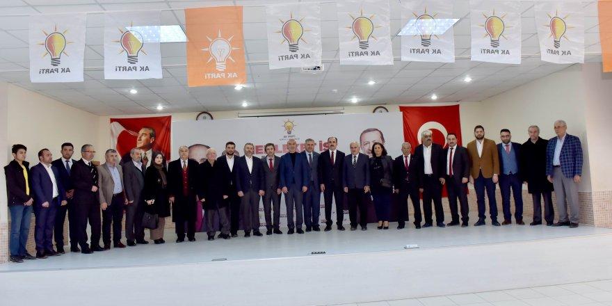 Hasan Angı ve Başkan Altay Güneysınır'da bir araya geldi
