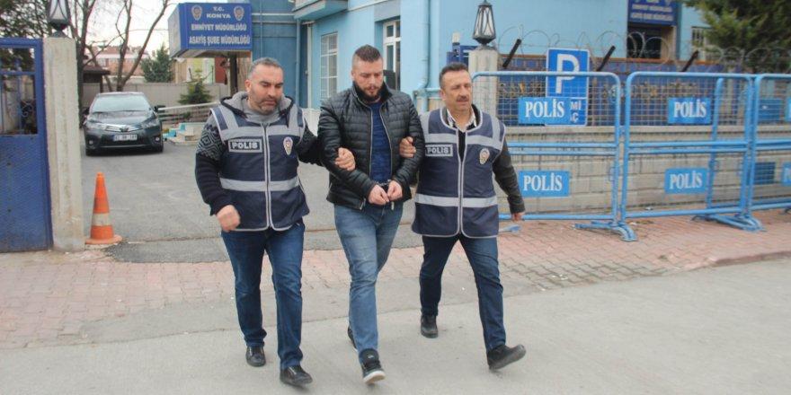 Interpol'ün aradığı katil zanlısı Konya'da yakalandı