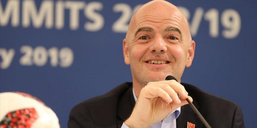 Fıfa Başkanı Infantino: Var Türkiye'de Olumlu Oldu Diye Düşünüyorum