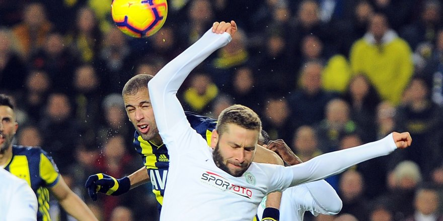 Emeğine sağlık Konyaspor: 1-1