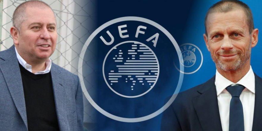 UEFA Başkanı Ceferin'den Hilmi Kulluk'a teşekkür