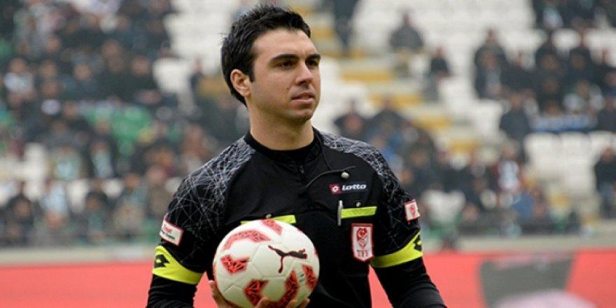 Konyaspor-Kayserispor hakemi belli oldu