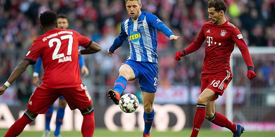 Bayern Münih, Hertha Berlin'i Tek Golle Geçti