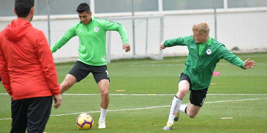 Konyaspor, Çaykur Rizespor Maçı Hazırlıklarına Başladı