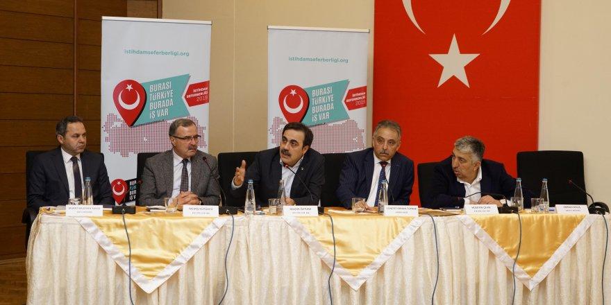 Konya'da İstihdam Seferberliği bilgilendirme toplantısı yapıldı