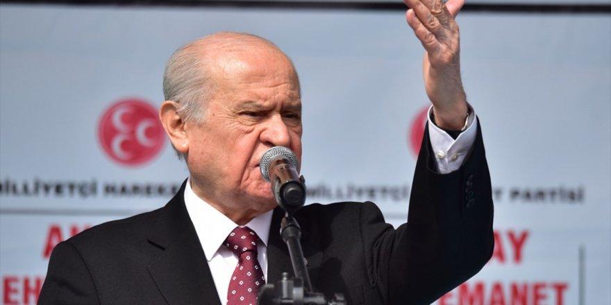 Mhp Genel Başkanı Bahçeli: Kılıçdaroğlu Tank-palet Fabrikası Üzerinden Yalan İnşa Etmesin