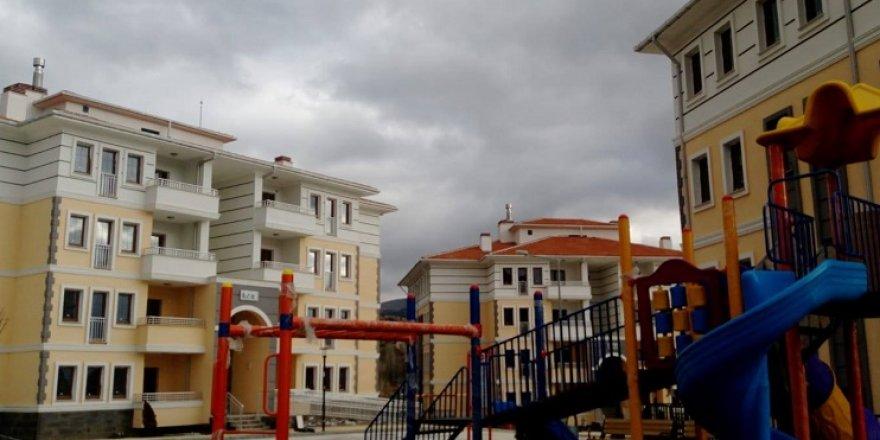 Derbent'te Toplu Konutlar Hak Sahiplerine Teslim Edilecek