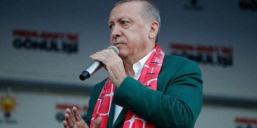 Cumhurbaşkanı Erdoğan: Oy İçin Bölücülere Taşeronluk Yapanlar Mücadelemizi İdrak Edemez