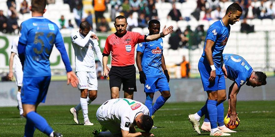 Konyaspor mücadele ruhunu arıyor