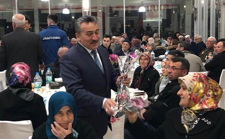 Başkan Tutal, şehit aileleri ve gazilerle buluştu