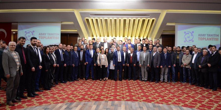 SMMMO Adayı Abdil Erdal projelerini açıkladı