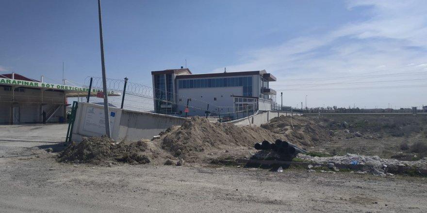 Konya'da İstinat Duvarı Çöktü
