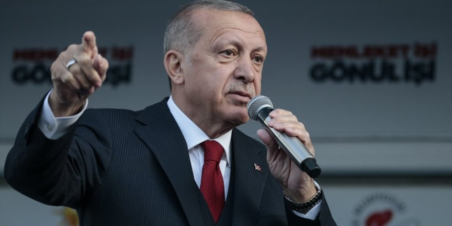Cumhurbaşkanı Erdoğan: 'Bölücü Örgüte Kandil'i Mezar Etmek İçin Bu Seçimden Güçlü Çıkmalıyız'