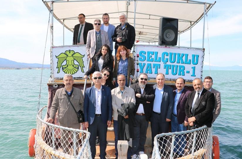 Başkan Özaltun basın mensuplarını ağırladı