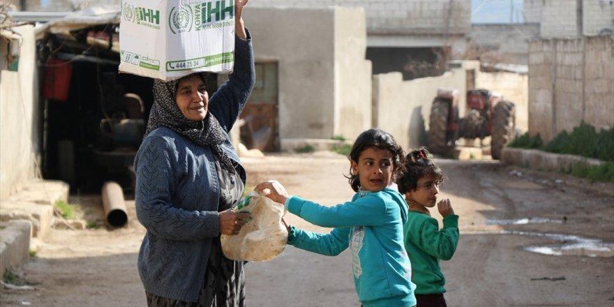İhh'den Afrin'de Bir Yılda 150 Bin Sivile İnsani Yardım