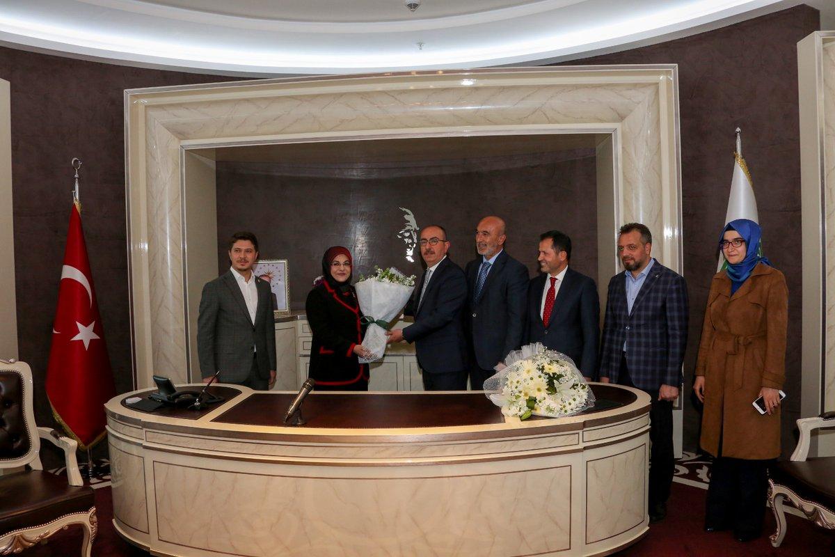 Meram'ın yeni başkanı Mustafa Kavuş görevi devraldı