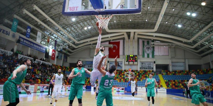 Konyaspor Evinde Kazandı: 75-73