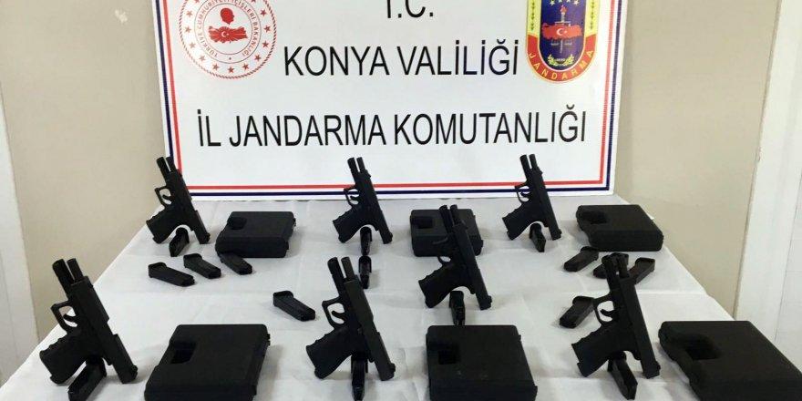 Konya'da Usulsüz Silah Satışına 3 Gözaltı