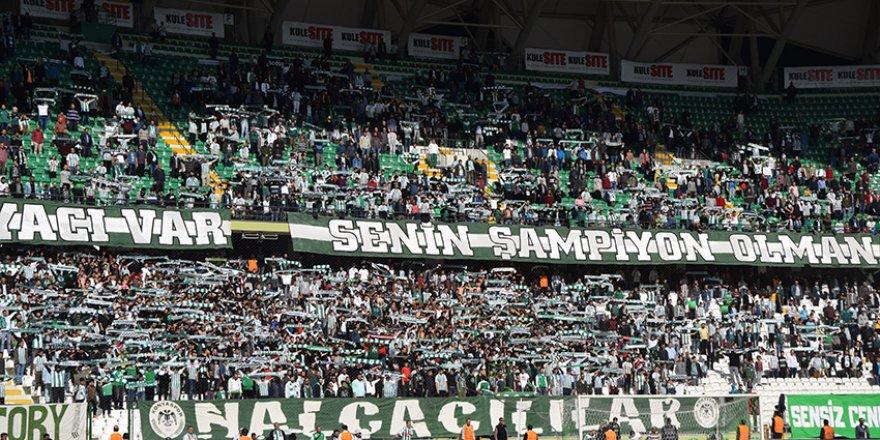 Konyaspor taraftarından hep destek tam destek