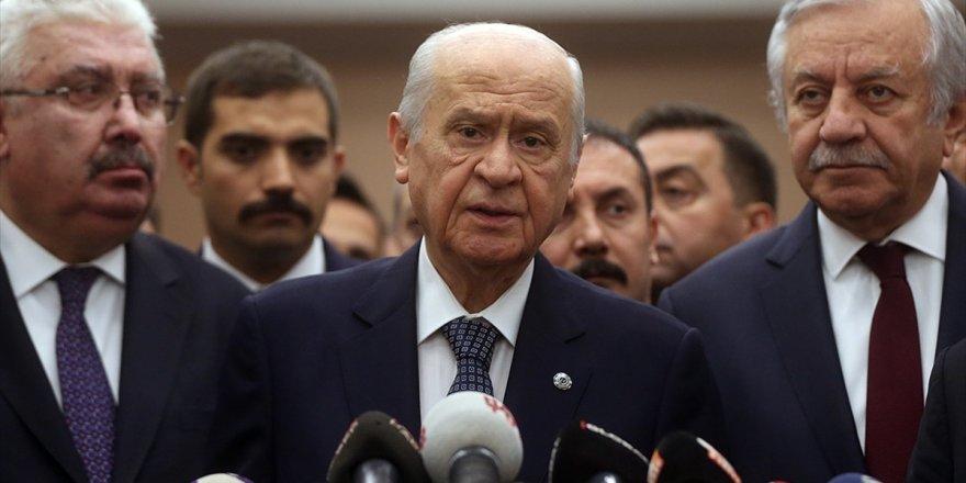 Mhp Genel Başkanı Bahçeli: Mazbatayı Stadyuma Taşımak Siyasi Düşmanlık İçin Ekilen Tohumdur