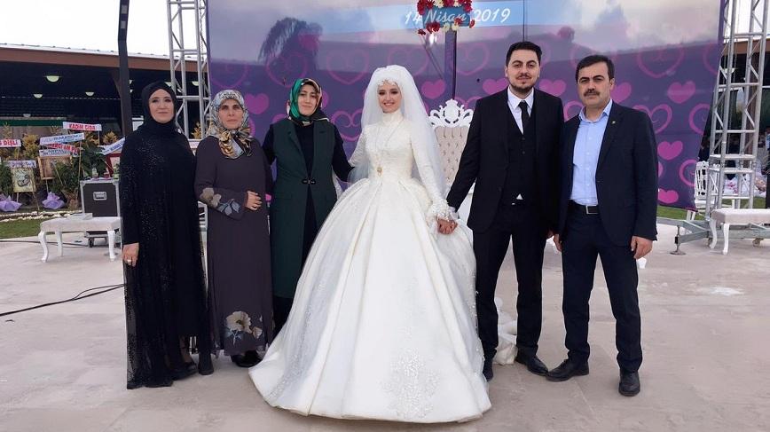 Selçuk Öztürk oğlu Hasan'ı evlendirdi