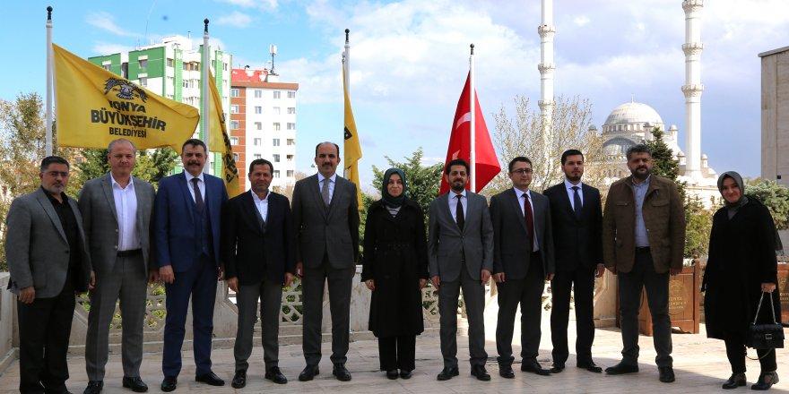 "Leyla Şahin Usta'dan Altay'a ""Hayırlı Olsun"" Ziyareti"