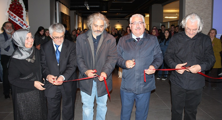 Emre Tan, Resim sergisi MEDAŞ'ta açıldı