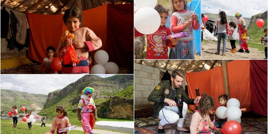 Göçer Ailelerin Çocukları İçin 23 Nisan Kutlaması