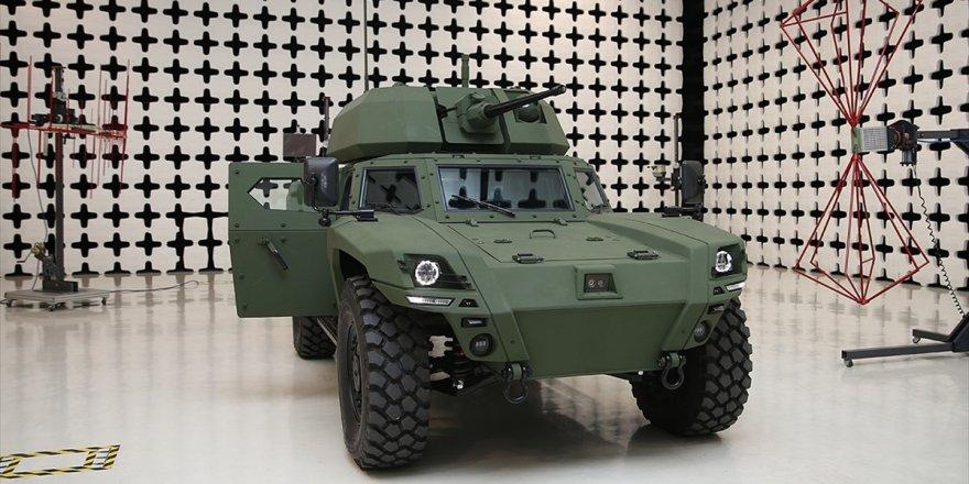 Türkiye'nin İlk Elektrikli Zırhlı Aracı Akrep Iı Tanıtıldı