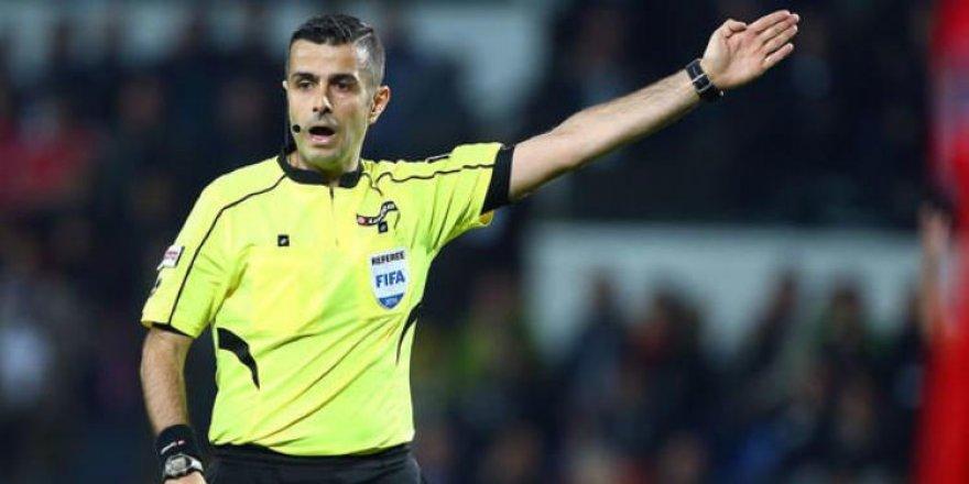 Maçın hakemi Konyaspor'un belalısı