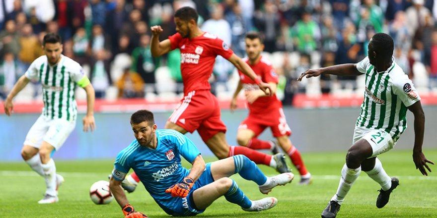 Konyaspor'un dersi gol