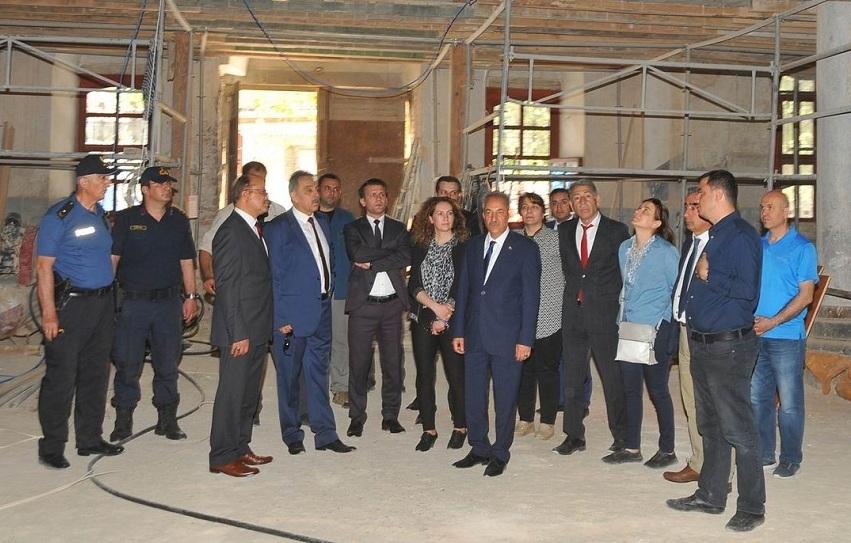Konya Valisi Toprak'tan Akşehir'e ziyaret