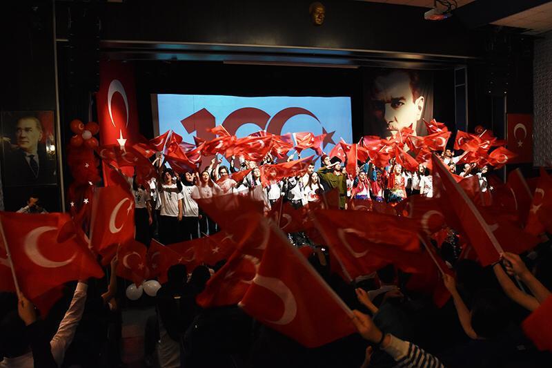 """DİLTAŞ'TA MİLLİ MÜCADELEMİZİN 100. YILI COŞKUSU!"""