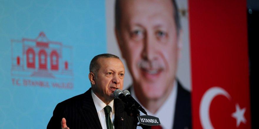 """Cumhurbaşkanı Erdoğan: """"İstanbul öyle bu işlerden anlamayan, belediyeciliği bilmeyenlerle olmaz"""""""